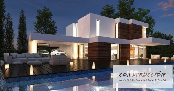 Construccion de casas modulares en Marbella